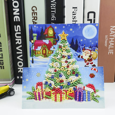 Christmas Tree - Diamond Painting Folding Card