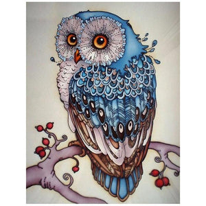 Owl - DIY Diamond  Painting