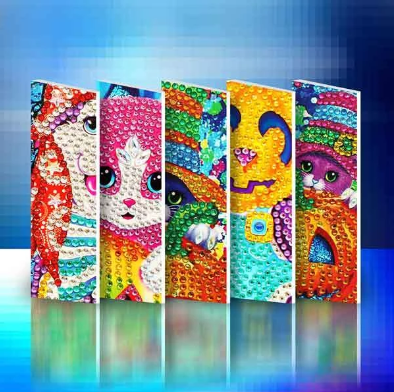 Halloween Set (4pcs) - DIY Diamond Painting Greeting Cards