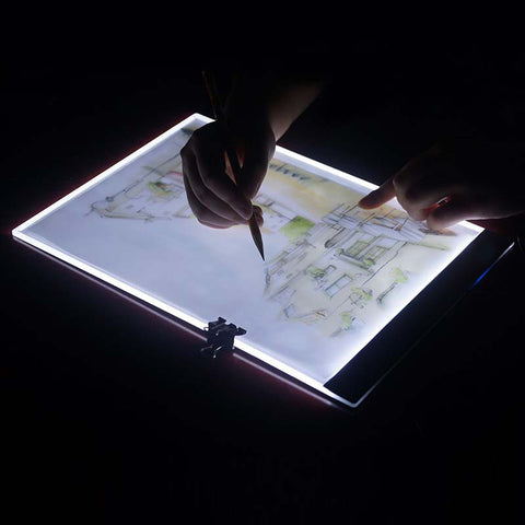 Image of Ultra thin A4 LED Light Tablet Pad for Diamond Painting