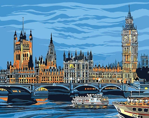 Image of Big Ben - DIY Painting By Numbers