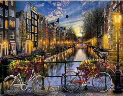 Image of Amsterdam - DIY Painting By Numbers
