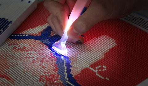 Diamond Painting Tool Pen with Led Light