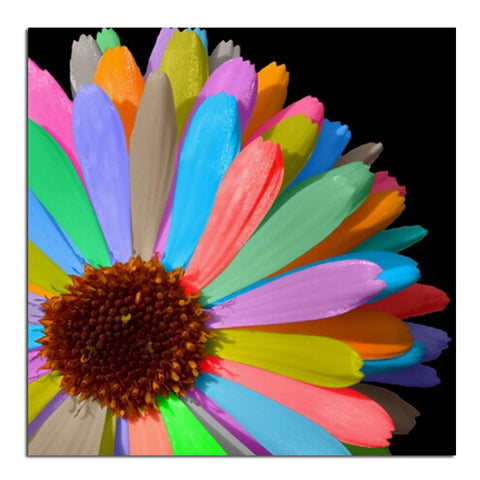 Image of Rainbow Flower - DIY Diamond  Painting