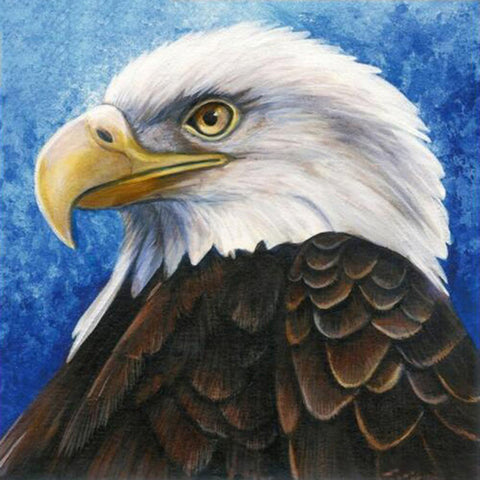 Image of Brave Eagle - DIY Diamond Painting