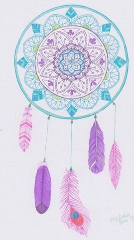 Image of Indian Dream catcher #20 - DIY Diamond Painting
