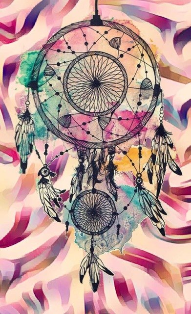 Indian Dream catcher #12 - DIY Diamond Painting