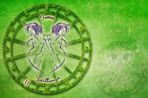 Image of Zodiac Sign (Gemini) - DIY Diamond Painting