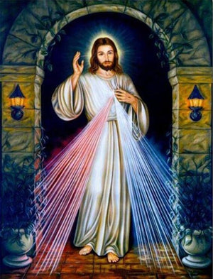 Jesus Christ #8 - DIY Diamond Painting