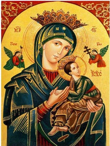Virgin Mary and Jesus Christ - DIY Diamond Painting