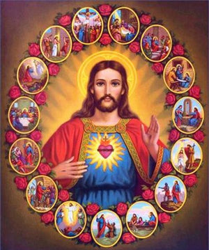 Jesus Christ and His Moments - DIY Diamond Painting
