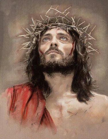 Image of Jesus Christ Image #2 - DIY Diamond Painting