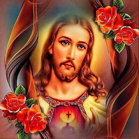 Jesus Christ Image - DIY Diamond Painting