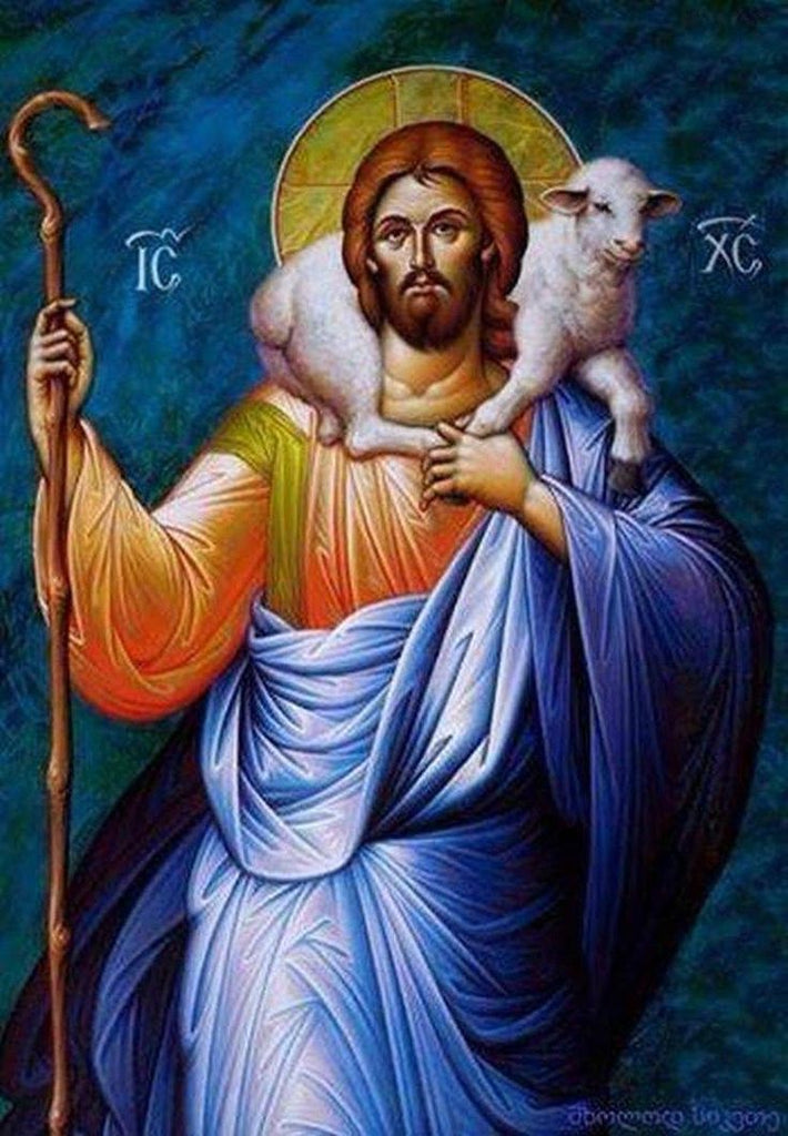 Jesus Christ The Good Shepherd - DIY Diamond Painting