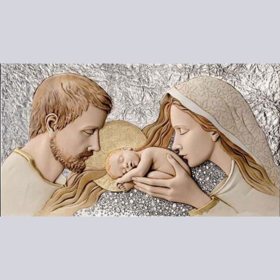 Mary, Joseph and Jesus - DIY Diamond Painting
