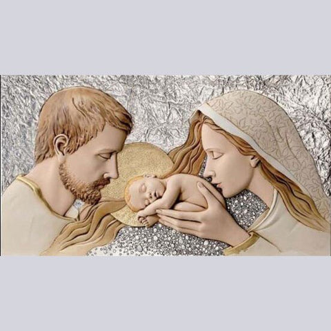 Image of Mary, Joseph and Jesus - DIY Diamond Painting