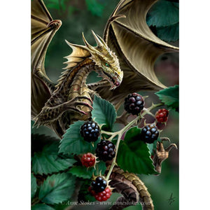 Dragon in Berries - DIY Diamond Painting