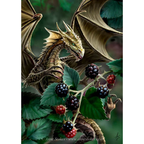 Image of Dragon in Berries - DIY Diamond Painting