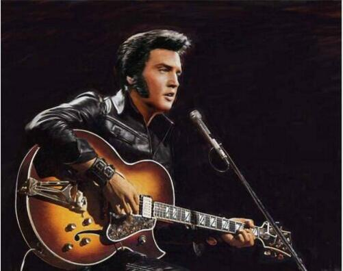 Elvis Presley #5 - DIY Diamond Painting