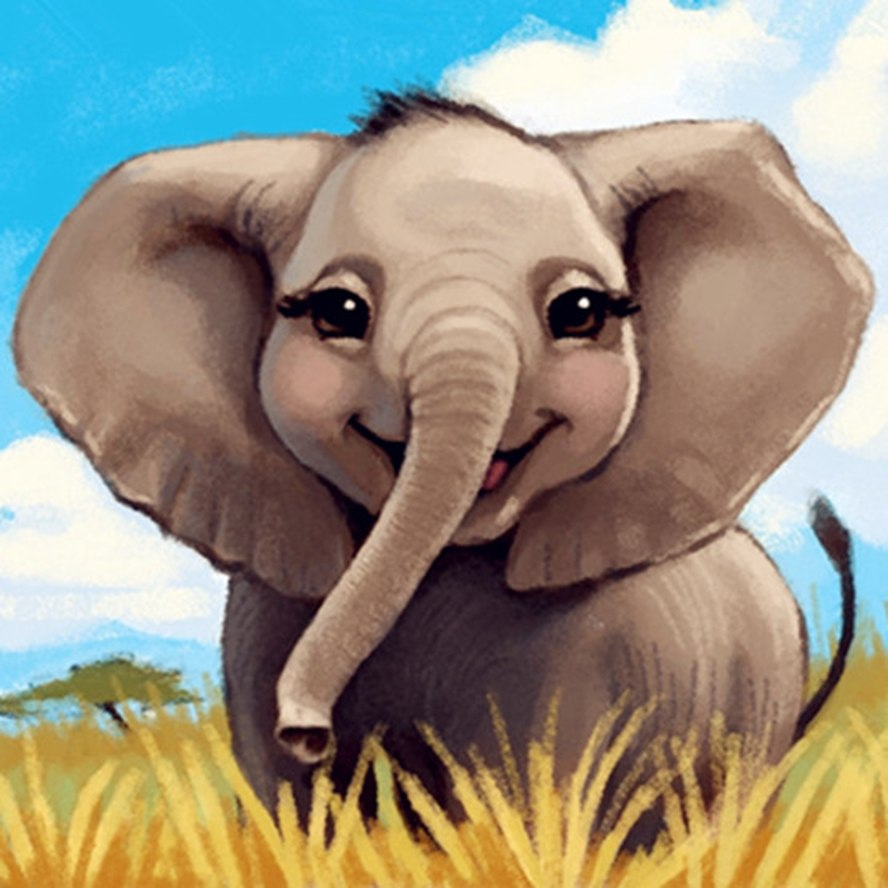 Baby Elephant - DIY Diamond Painting