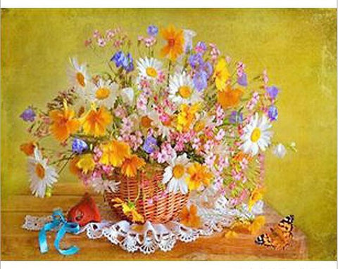 Image of Assorted Summer Flower - DIY Diamond  Painting