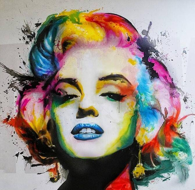 Marilyn Monroe - DIY Diamond  Painting