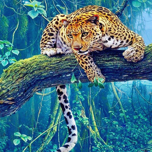 Wild Cheetah - DIY Diamond  Painting