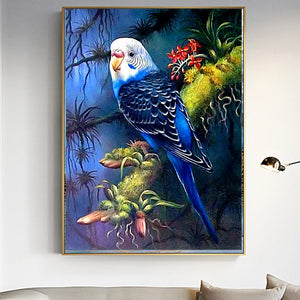 Parrot - DIY Diamond  Painting