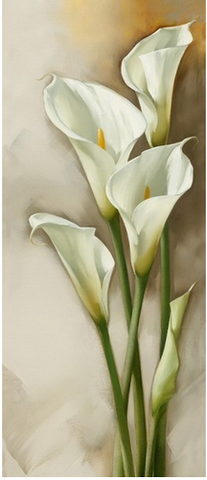 Image of Lily Bloom #1 - DIY Diamond  Painting