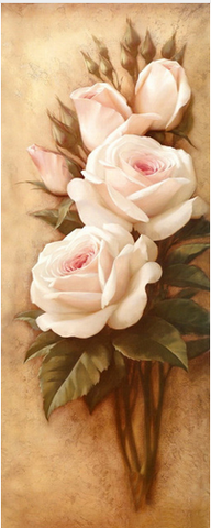 Image of Rose Bloom #2 - DIY Diamond  Painting
