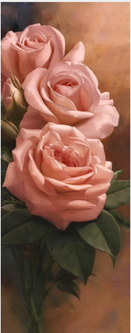 Image of Rose Bloom #1 - DIY Diamond  Painting
