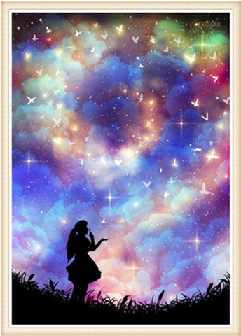 Image of Starry Sky Scenery #2 - DIY Diamond Painting