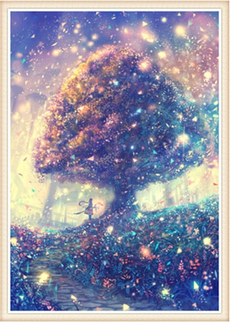 d64af86666 Starry Sky Scenery #6 - DIY Diamond Painting – Colorelaxation