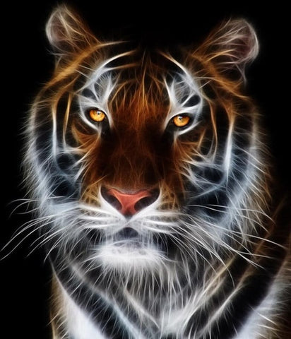 Image of Tiger #4 - DIY Diamond Painting
