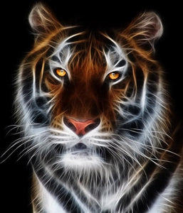 Tiger #4 - DIY Diamond Painting