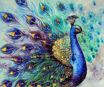 Classic Peacock - DIY Diamond Painting