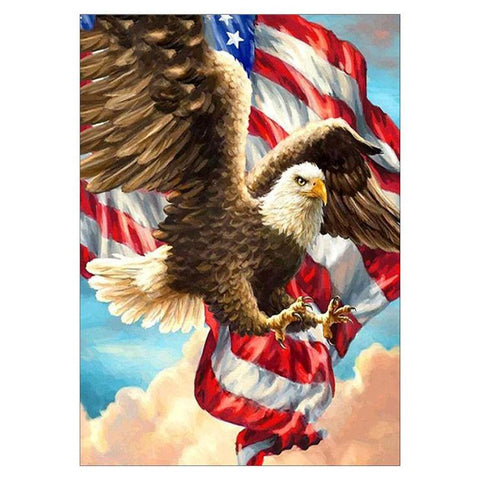 Image of US Eagle - DIY Diamond Painting