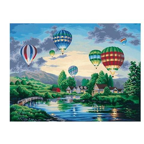 Image of Hot Air Balloon - DIY Diamond Painting