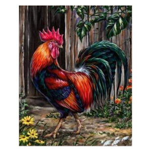 Rooster - DIY Diamond Painting