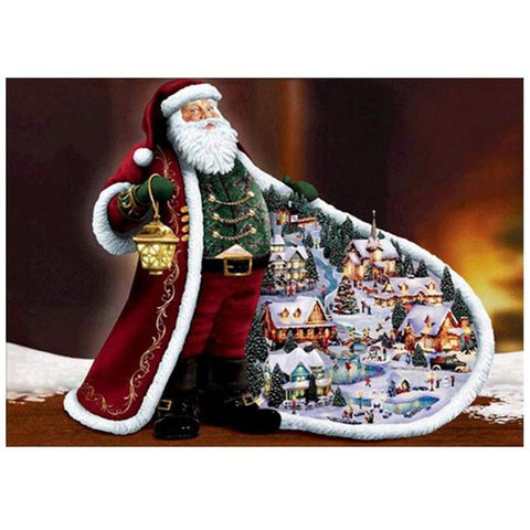 Santa Village - DIY Diamond Painting