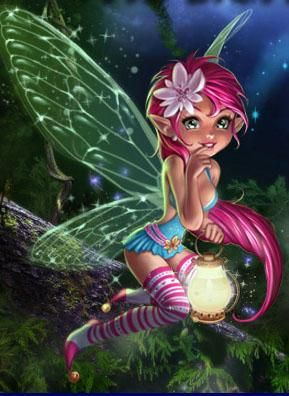 Cute Fairy - DIY Diamond Painting