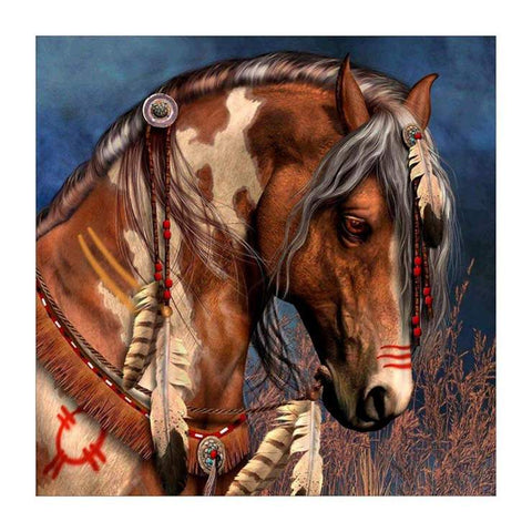 Tribal Horse - DIY Diamond Painting
