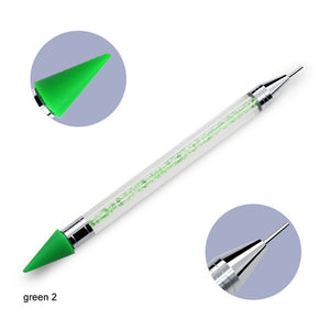 Double Head Point Drill Pen