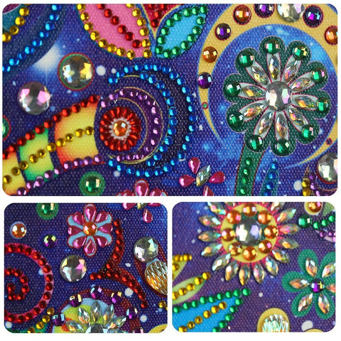 Image of Owl Dream-catcher - Glittering 5D DIY Diamond Painting