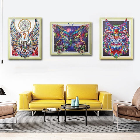 Image of abstract paintings for sale