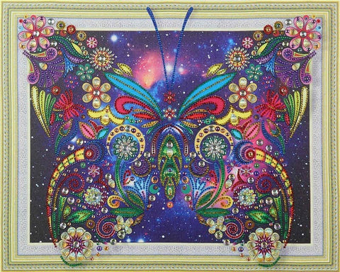 Butterfly - Glittering 5D DIY Diamond Painting