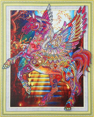 Pegasus -  Glittering 5D DIY Diamond Painting