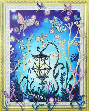 Lantern - Glittering 5D DIY Diamond Painting