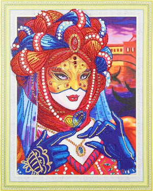 Ancient Princess - Glittering 5D DIY Diamond Painting