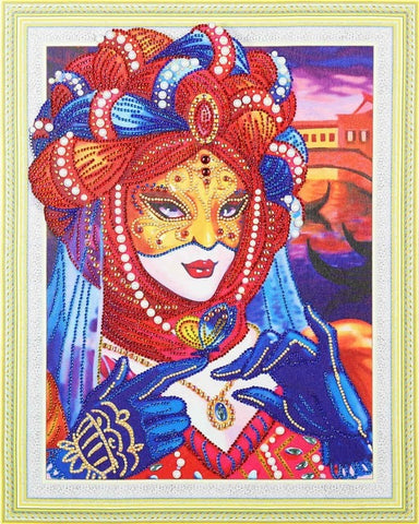 Image of Ancient Princess - Glittering 5D DIY Diamond Painting